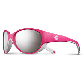 Julbo Lily Spectron 4 Sunglasses 4-6Y Kids, fuchsia/light gray-gray flash silver